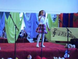 Karmen Käär 6-aastane