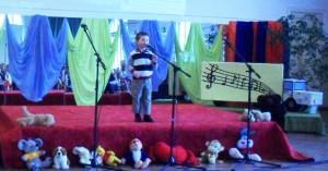 Margus Rentnik 3-aastane