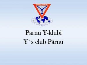 Pärnu Y- klubi