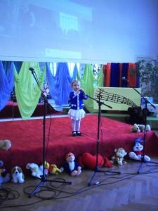 Sandra Tomson 2-aastane